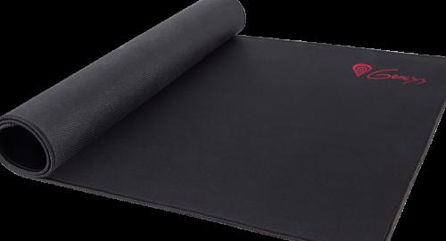 Genesis Carbon 500 Maxi Logo Mouse pad, 450 x 900 x 2.5 mm, Black
