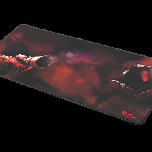 Genesis Carbon 500 XXL Tank NPG-1356 Black, Mouse pad, Fabric/Rubber, 300 x 800 x 2,5 mm