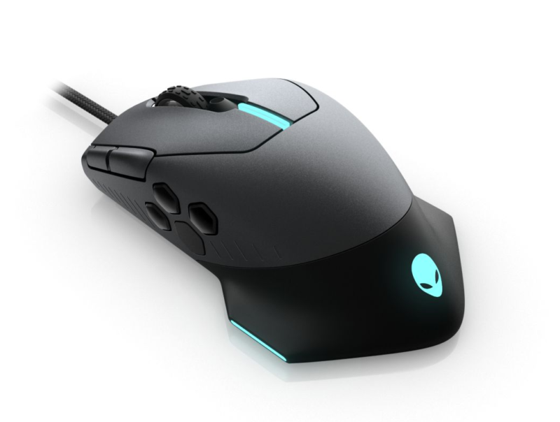 Dell Alienware Gaming Mouse AW510M Wired gaming mouse, Dark Grey