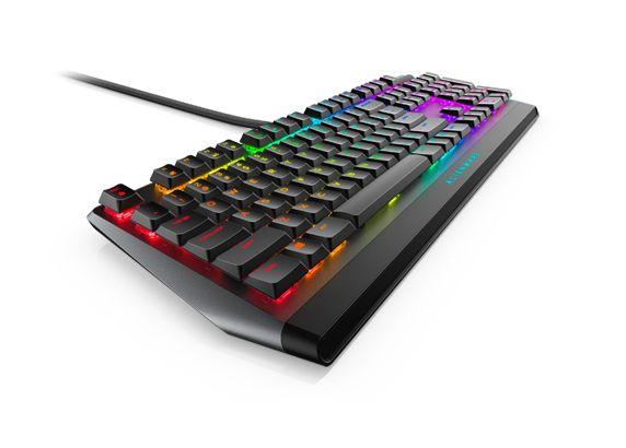 Dell Alienware Gaming Keyboard AW510K Wired, Mechanical Gaming Keyboard, RGB LED light, EN, Dark Gray, USB