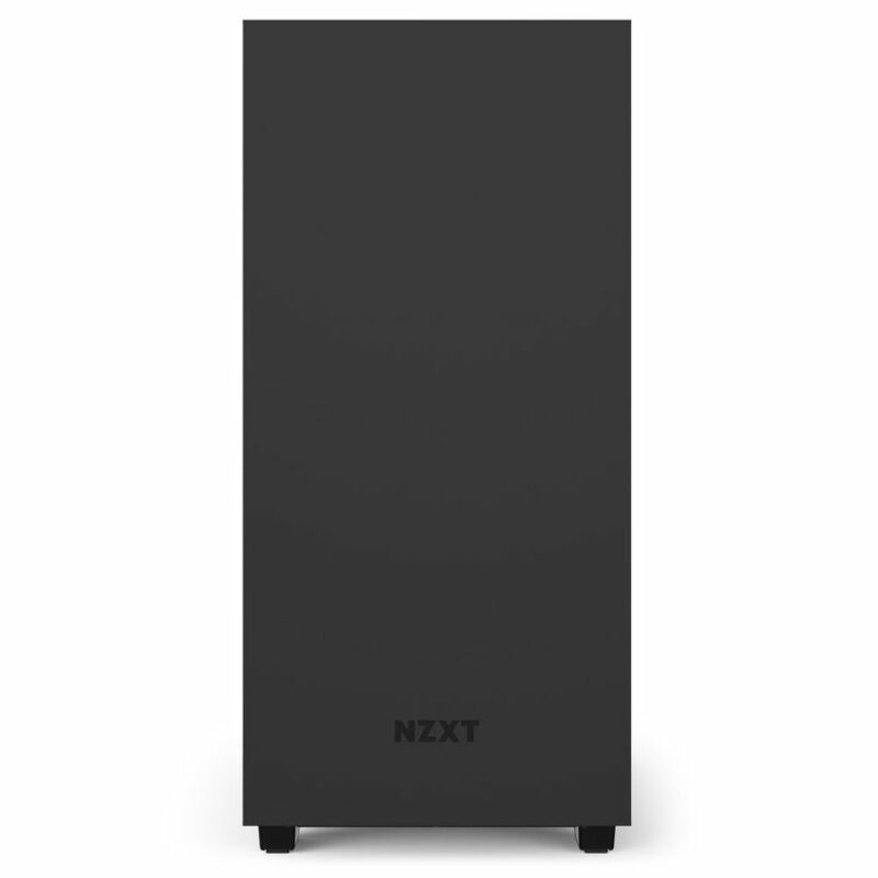 NZXT H510 Side window, Black/Black, ATX, Power supply included No