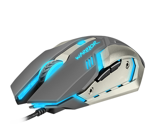 Fury NFU-0869 Warrior Optical Gaming Mouse, Wired