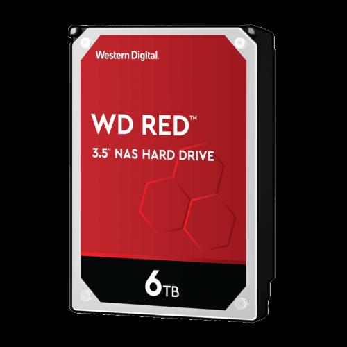 Western Digital NAS Hard Drive WD Red 5400 RPM, 6000 GB