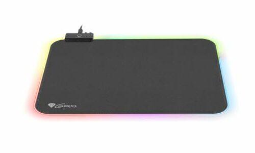 Genesis Gaming Mouse Pad, Boron 500 RGB, Black, M-size