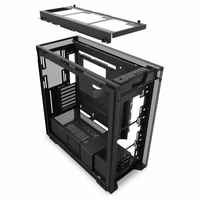 NZXT H710  Side window, Black, ATX, Power supply included No
