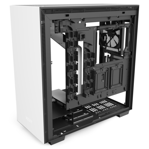 NZXT H710i White/Black, ATX, Power supply included No