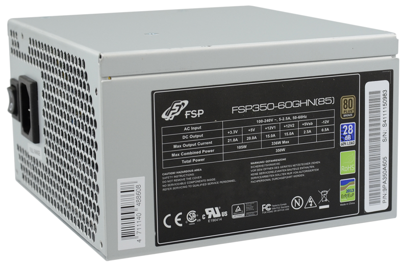 Fortron FSP400-60GHS 85+ 400 W