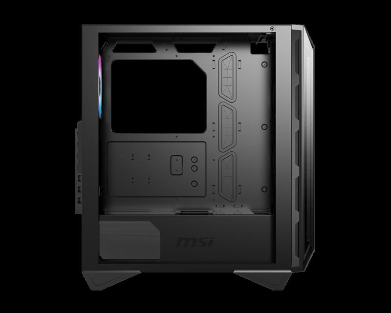 MSI MPG GUNGNIR 110R PC Case, Mid-Tower, USB 3.2, Black