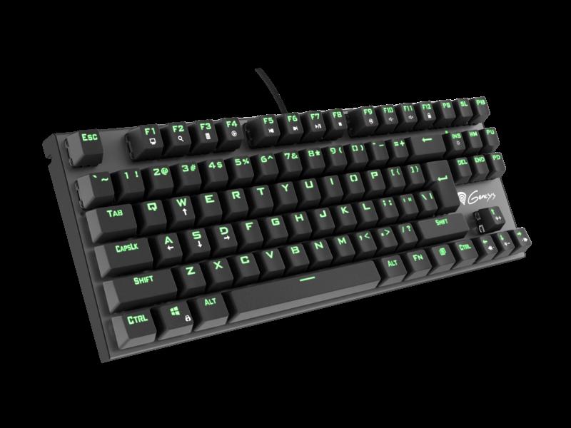 GENESIS Thor 300 TKL Gaming Keyboard, US layout, Wired, Black