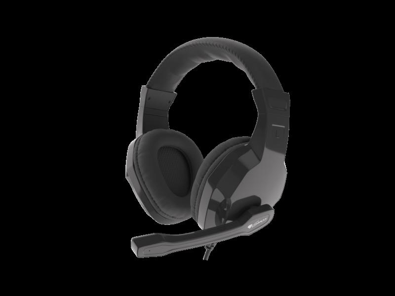 GENESIS ARGON 100 Gaming Headset, On-Ear, Wired, Microphone, Black