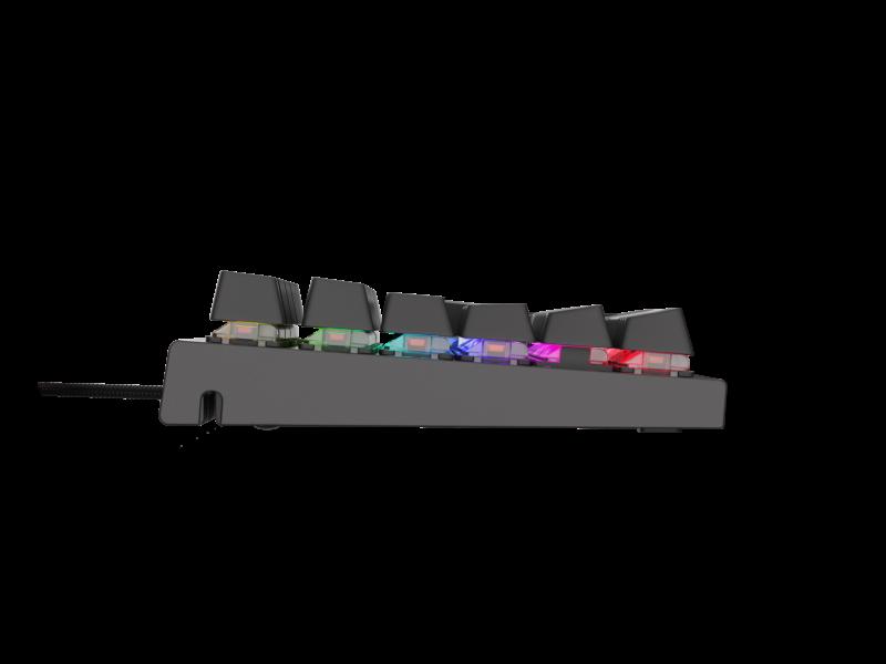 Genesis THOR 300 Gaming keyboard, RGB LED light, US, Black, Wired