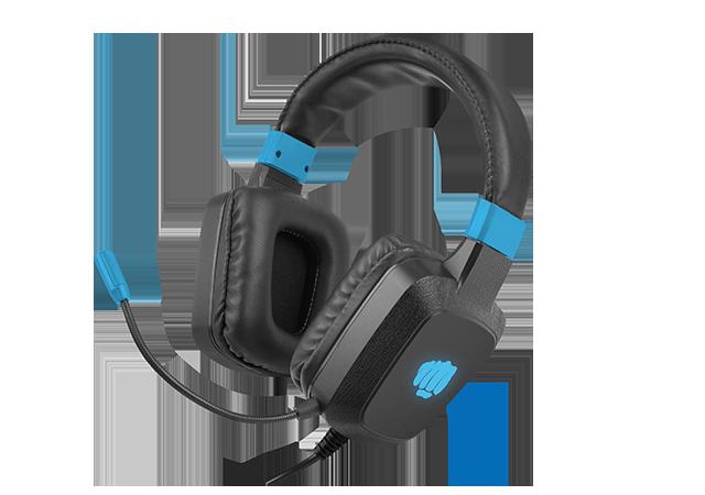 Fury Gaming Headset Raptor Built-in microphone, Black/Blue