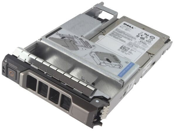 Dell HDD 10000 RPM, 2400 GB, Hot-swap, Advanced format 512e, SAS 12Gb/s, 3.5″ in hybrid carrier
