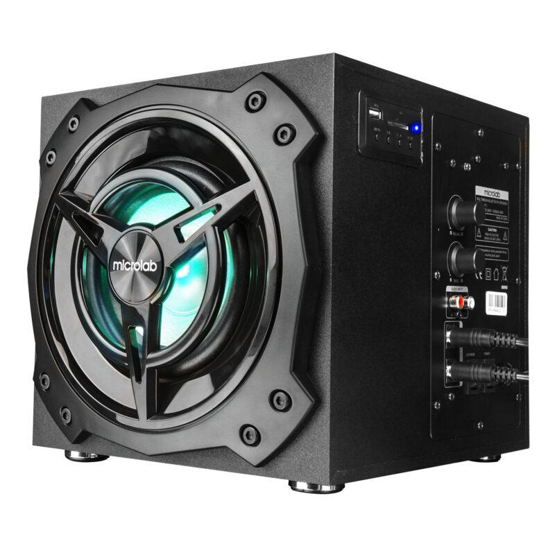 Microlab T11 RCA, Bluetooth, SD card, USB, Bluetooth version 5.0, Black, 42 W