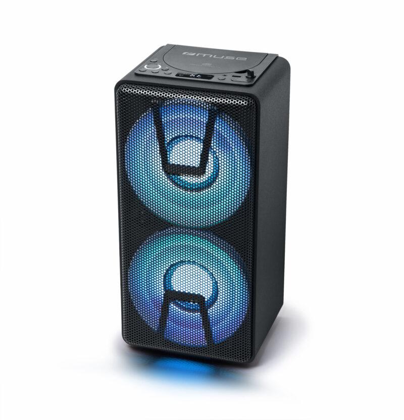 Muse Party Box Speaker M-1820 DJ 150 W, Bluetooth, Wireless connection, Black
