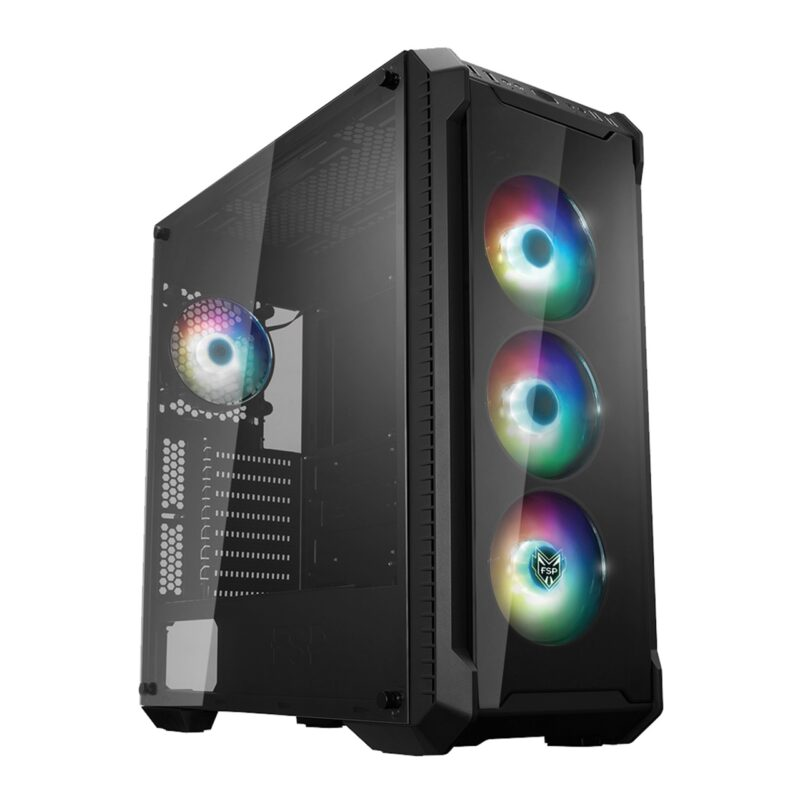 Fortron CMT520 PLUS Black, ATX, Power supply included No