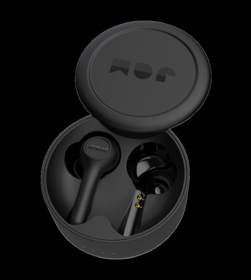 Jam TWS Exec Earbuds, In-Ear, Wireless, Microphone, Black