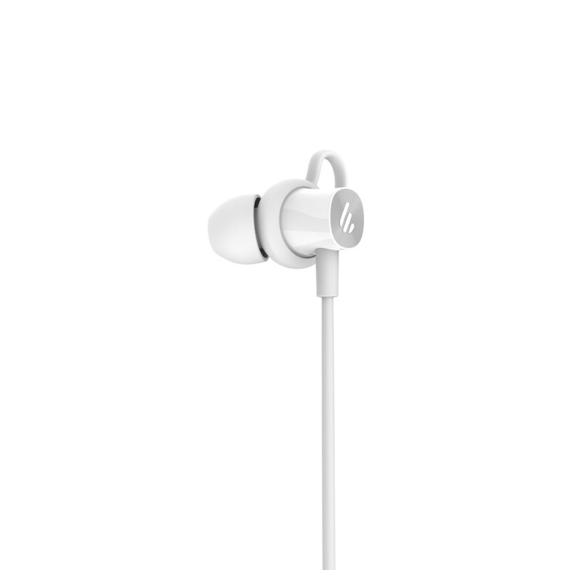 Edifier Wireless Sports Earphones W200BT Neckband, Microphone, 5.0, Yes, Noice canceling, Silver