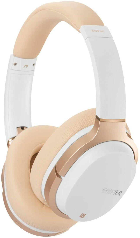 Edifier Headphones BT W830BT Over-ear, Microphone, White/Creme