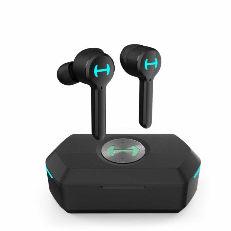 Edifier Gaming Earbuds GM6 In-ear, Microphone, Noice canceling, Wireless, Black