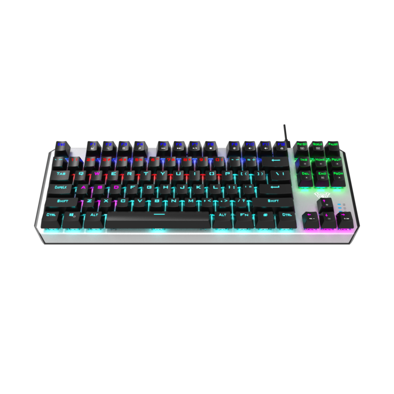 Aula Aegis Mechanical Keyboard, Wired, EN, RED switch, USB, Black