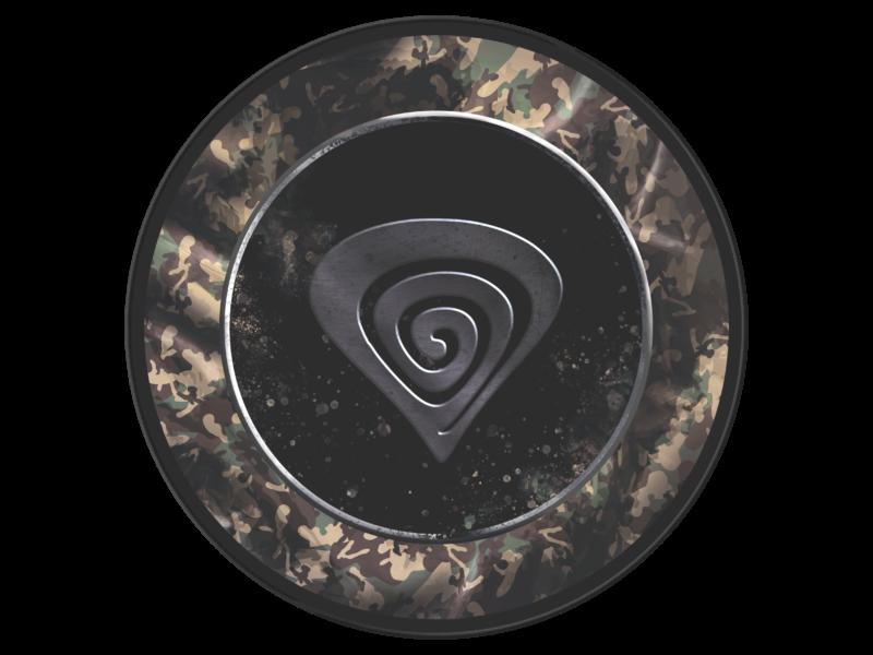 Genesis Protective Floor Mat Tellur 500 Master of Camouflage Black/Grey/Brown/Green