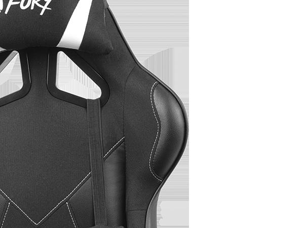 Genesis Gaming Chair Fury Avenger L Black/White