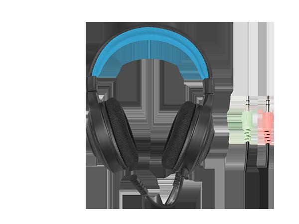 Genesis COMBO set 4in1 FURY Thunderstreak 3.0 Keyboard + Mouse + Headphones + Mousepad