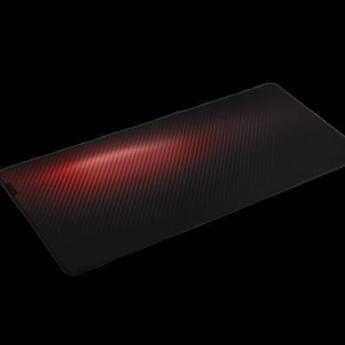 Genesis Carbon 500 Ultra Blaze Mouse pad, 450 x 1100 x 2.5 mm, Red/Black