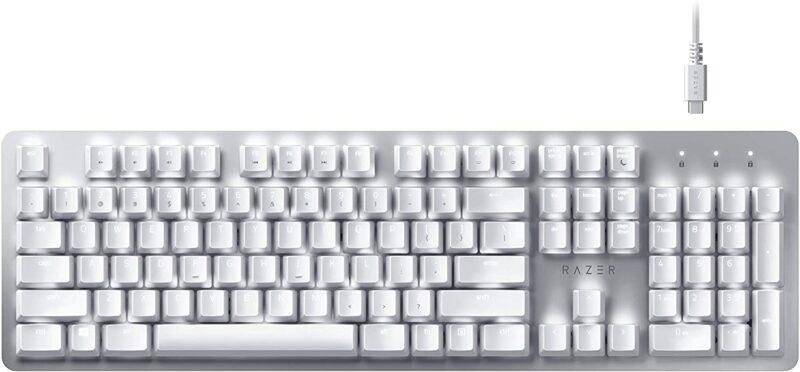 Razer Pro Type Mechanical Keyboard, US, White