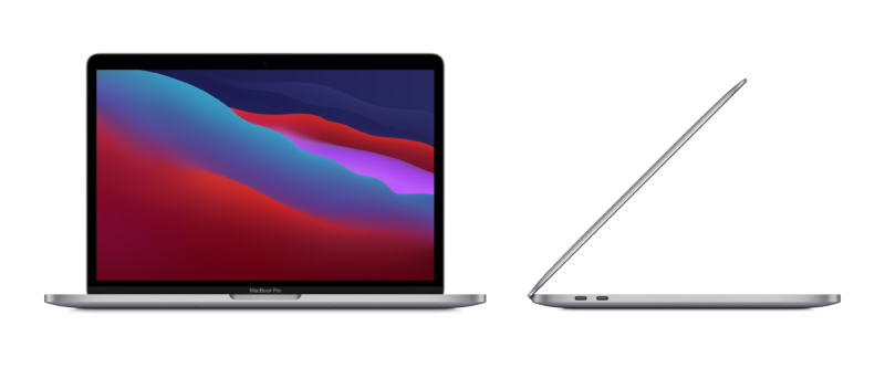 """Apple MacBook Pro Space Grey, 13.3 """", IPS, 2560 x 1600, Apple M1, 8 GB, SSD 512 GB, Apple M1 8-core GPU, Without ODD, macOS, 802.11ax, Bluetooth version 5.0, Keyboard language English, Keyboard backlit, Warranty 12 month(s), Battery warranty 12 month(s), Retina with True Tone Technology"""