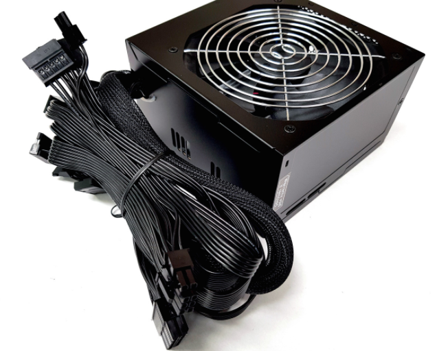 Fortron HYPER K 500W ATX 12V V2.4 & EPS 12V V2.92, 500 W, Active PFC (>0.9 typical), Protections: OVP/OCP/SCP