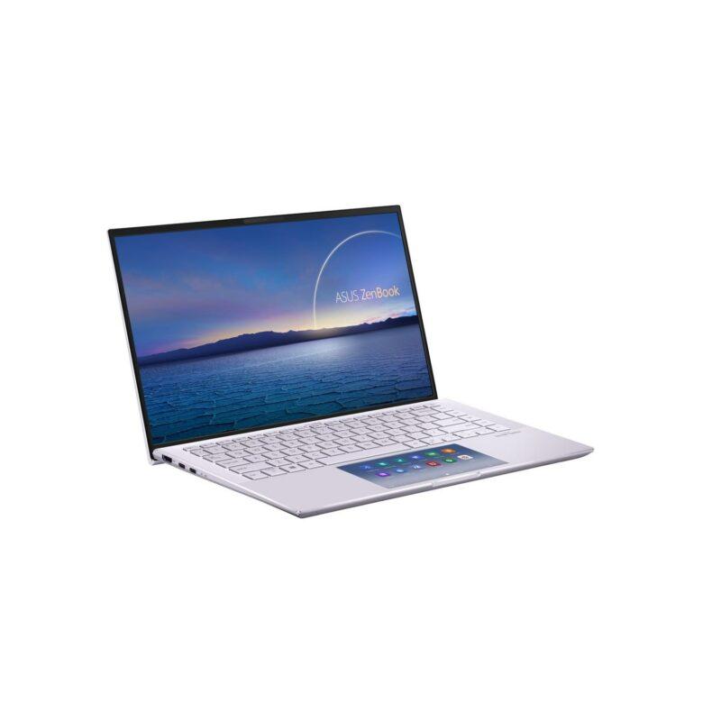 "Asus ZenBook UX435EG-A5149T Lilac Mist, 14.0 "", IPS, FHD, 1920 x 1080 pixels, Matt, Intel Core i5, i5-1135G7, 8 GB, LPDDR4X on board, SSD 256 GB, NVIDIA GeForce MX450, No ODD, Windows 10 Home, 802.11ax, Bluetooth version 5.0, Keyboard language English-Russian, Keyboard backlit, Warranty 24 month(s), Battery warranty 12 month(s)"