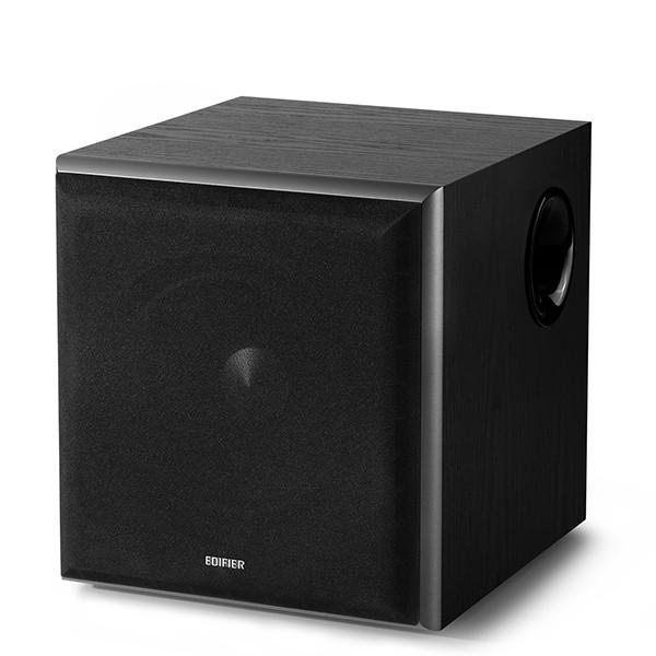 Edifier Powered Subwoofer T5 Stereo RCA in, Stereo RCA out, Black, 70 W