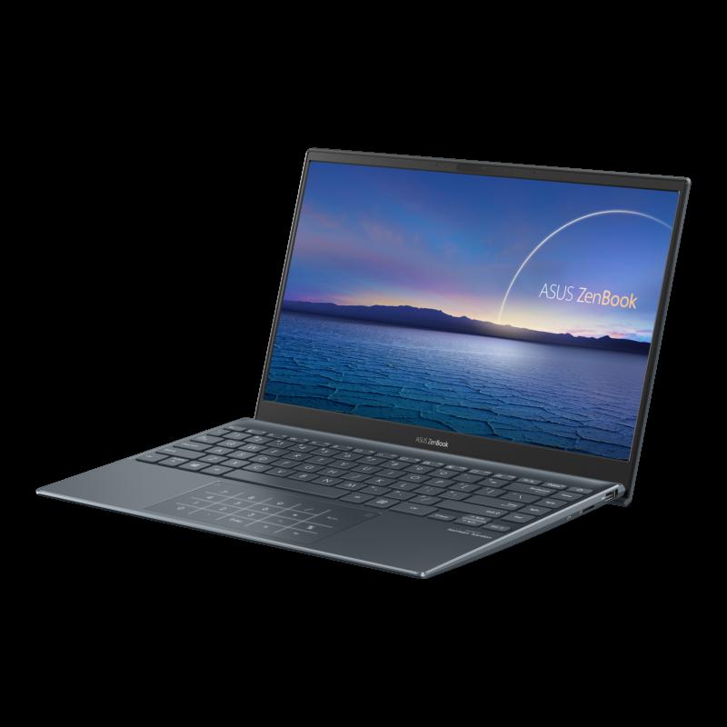 "Asus ZenBook UX325EA-KG235T Pine Grey, 13.3 "", OLED, FHD, 1920 x 1080 pixels, Glossy, Intel Core i5, i5-1135G7, 8 GB, LPDDR4X on board, SSD 512 GB, Intel Iris Xe, No ODD, Windows 10 Home, 802.11ax, Bluetooth version 5.0, Keyboard language English-Russian, Keyboard backlit, Warranty 24 month(s), Battery warranty 12 month(s)"