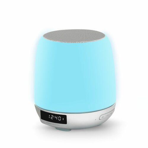 Energy Sistem Clock Speaker 3 Light (Dual Alarm, 8 W, Wake-Up Light, FM Radio, Bluetooth, Line-In, Touch control)