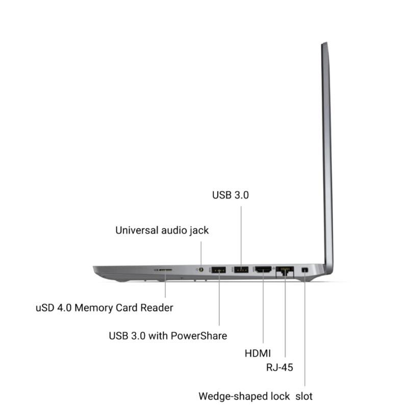 "Dell Latitude 5420 Gray, 14 "", IPS, Full HD, 1920 x 1080, Matt, Intel Core i5, i5-1135G7, 8 GB, DDR4, SSD 256 GB,  Intel Iris Xe, Windows 10 Pro, 802.11ax, Bluetooth version 5.1, Yes, Keyboard language English, Keyboard backlit, Warranty ProSupport Next Buiness Day OnSite 36 month(s), Battery warranty 12 month(s)"