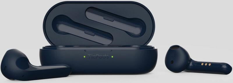 TicWatch True Wireless Smart Earbuds TicPods 2 Pro Plus Built-in microphone, Bluetooth, Navy Blue