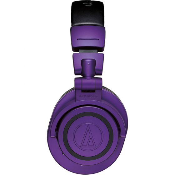 Audio Technica Wireless Over-Ear Headphones ATH-M50xBTPB Over-ear, Microphone, 3.5 mm (1/8″) stereo mini-plug, Noice canceling, Wireless, Purple/Black