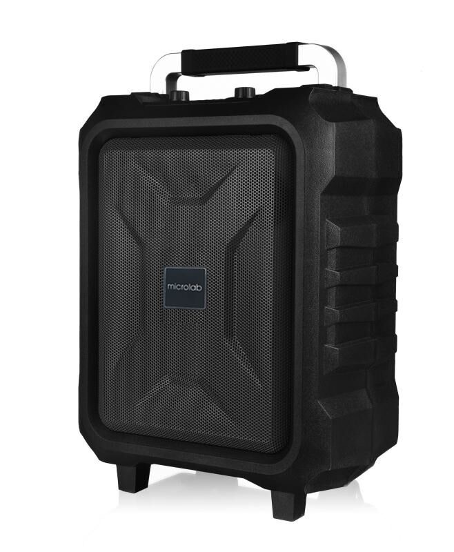 Microlab Speaker TL20 Bluetooth, TF card, USB drive, Aux, FM, Black, 200 W, Portable