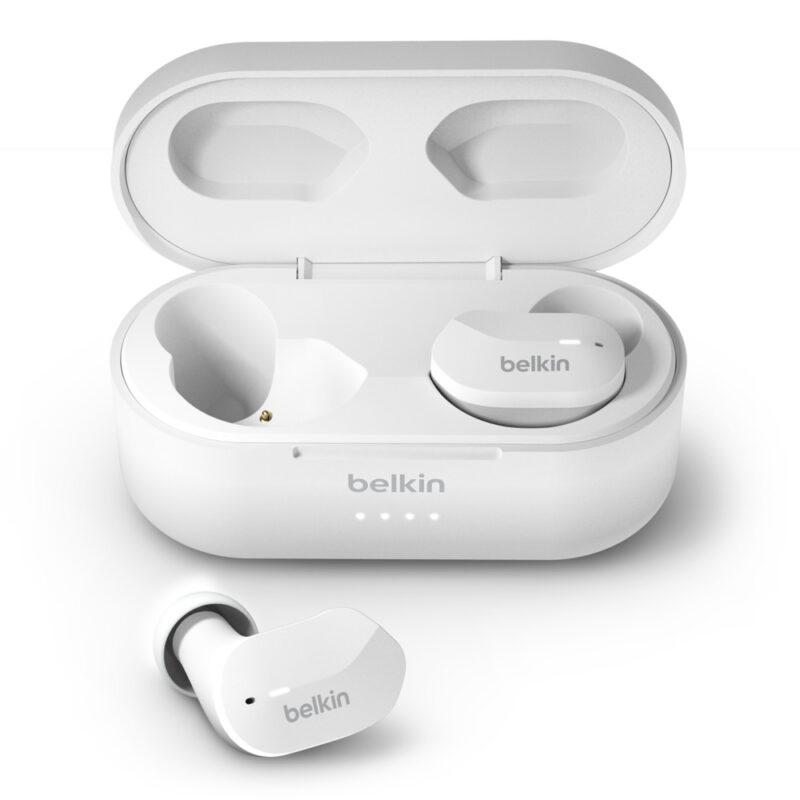 Belkin True Wireless Earbuds SoundForm Built-in microphone, Bluetooth, White