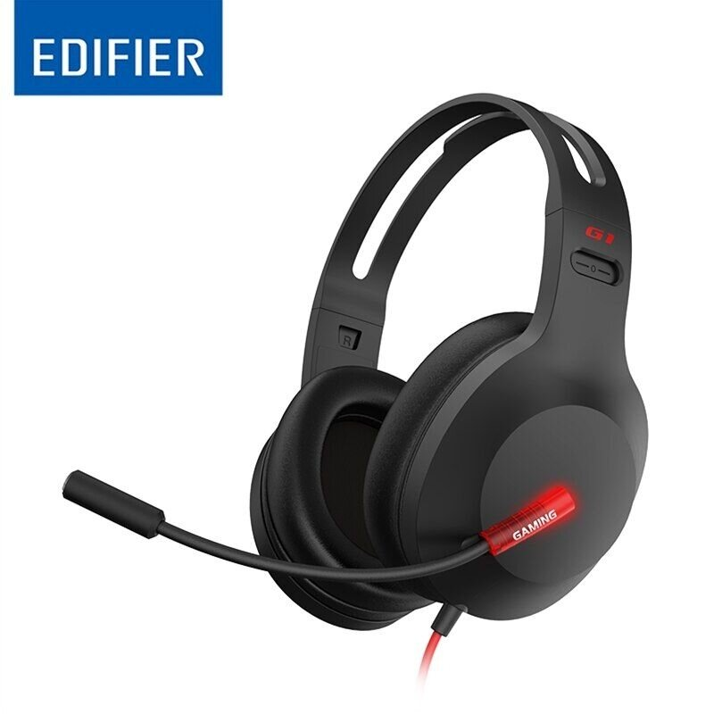 Edifier Gaming Headset G1 Over-ear, Microphone, Black