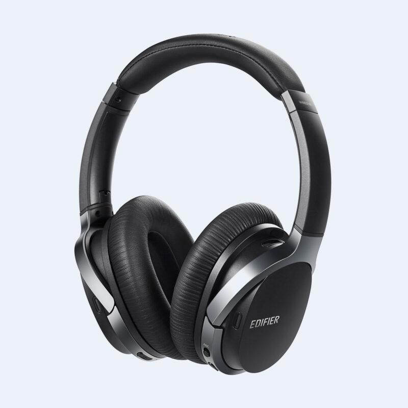 Edifier Active Noise Cancelling Bluetooth Headphones W860NB ANC, 3.5 mm, USB, Bluetooth, Black