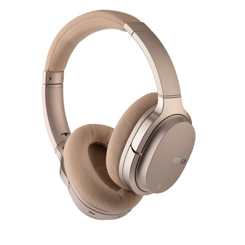 Edifier Active Noise Cancelling Bluetooth Headphones W860NB ANC, 3.5 mm, USB, Bluetooth, Gold