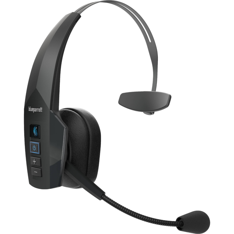 BlueParrott Bluetooth Headset B350-XTS Bluetooth, Black