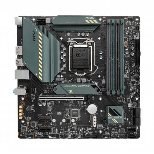 MSI MSI MAG B560M BAZOOKA Processor family Intel, Processor socket 1200, DDR4, Memory slots 4, Number of SATA connectors 6, Chipset Intel B, Micro-ATX