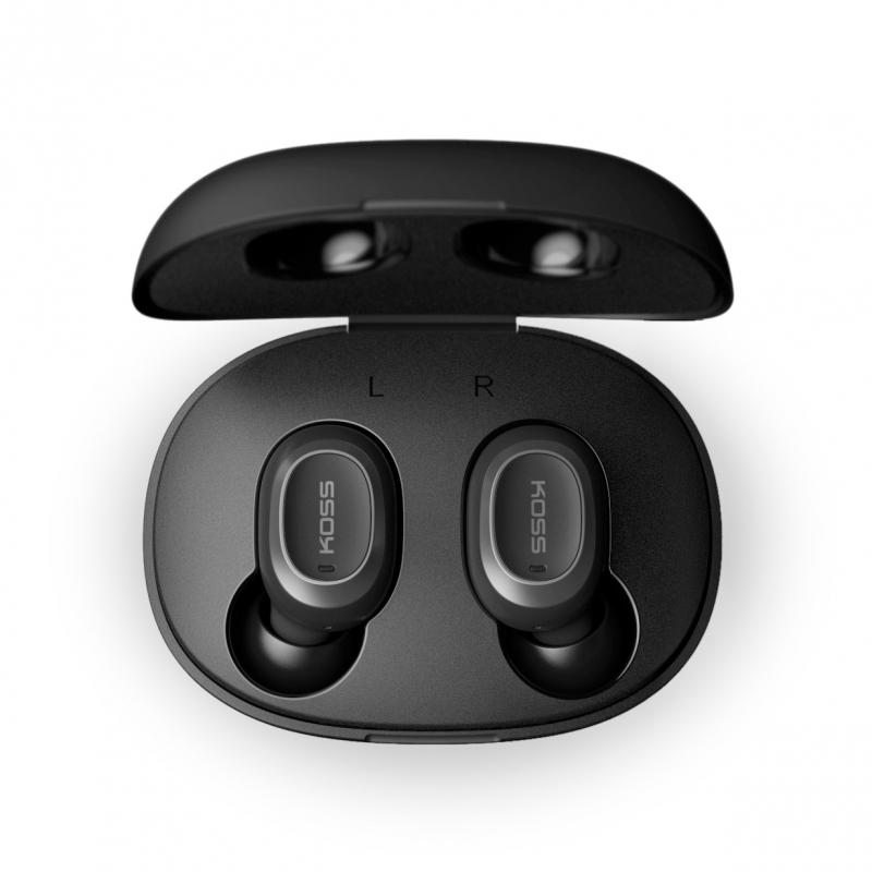 Koss True Wireless Earbuds TWS250i In-ear, Microphone, Wireless, Black
