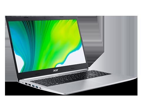 "Acer Aspire 5 A515-44-R5B5 Silver, 15.6 "", IPS, Full HD, 1920 x 1080 pixels, Matte, AMD, 4500U, 8 GB, DDR4, SSD 512 GB, AMD Radeon RX Vega 6, No ODD, Windows 10 Home, 802.11ac, Bluetooth version 5.0, Keyboard language English, Keyboard backlit, Warranty 24 month(s), Battery warranty 12 month(s)"
