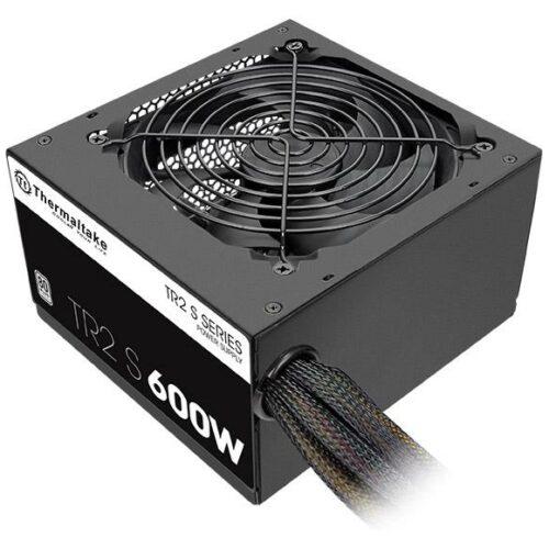 Power Supply|THERMALTAKE|600 Watts|Efficiency 80 PLUS|PFC Active|PS-TRS-0600NPCWEU-2