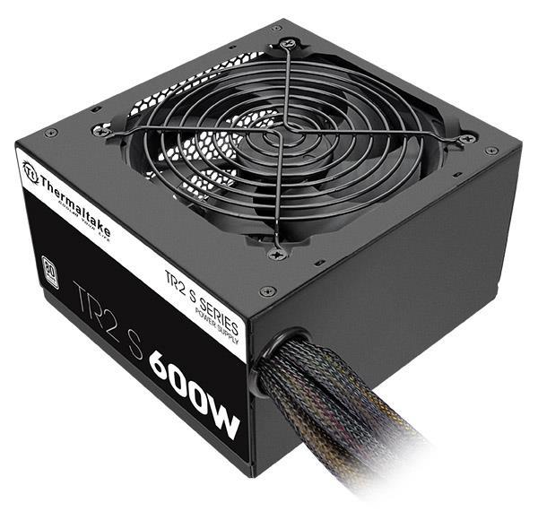 Power Supply THERMALTAKE 600 Watts Efficiency 80 PLUS PFC Active PS-TRS-0600NPCWEU-2